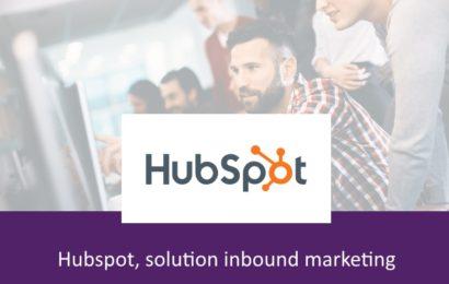 Hubspot, solution inbound marketing