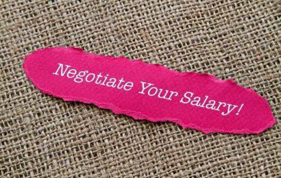 Tout ce qu'il faut savoir sur les négociations d'un salaire